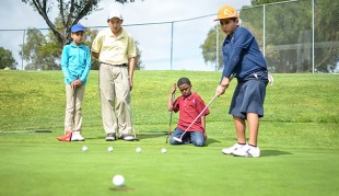 Pro Kids putts students on the right course