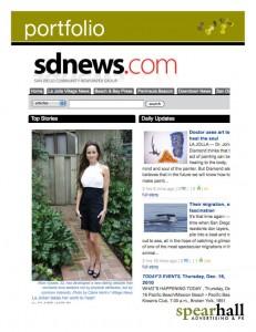 Portfolio: sdnews.com