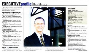 Executive Profile: Rick Mickels